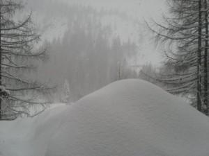 snežak drugi dan